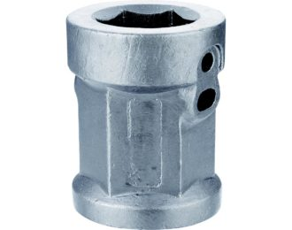 Auger drilling parts – Hex and Square hubs 2 5/8″ Hex x