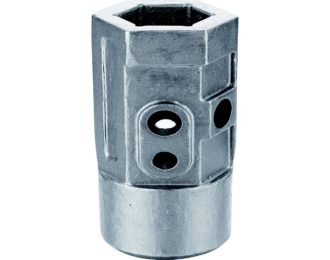 Auger drilling parts – Hex and Square hubs  2″ Hex X 8″